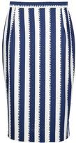 Karl Lagerfeld Vintage striped skirt