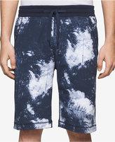 "Calvin Klein Jeans Men's Stretch Palm-Print 10"" Stretch Shorts"