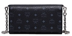 MCM Visetos Chain Wallet Crossbody
