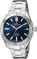 Alpina Men's 'Alpiner 4' Swiss Automatic Stainless Steel Casual Watch, Color:Silver-Toned (Model: AL-525NS5AQ6B)