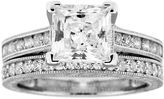 JCPenney FINE JEWELRY DiamonArt Cubic Zirconia Bridal Ring Set
