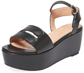 Robert Clergerie Fatia Leather Platform Sandal