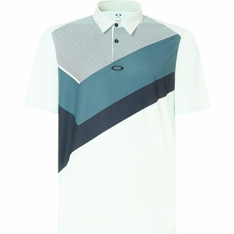 Oakley Men's Polo Shirt Ss Placed Collar Block