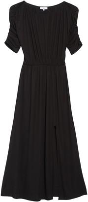 NSR Chloe Ruched Sleeve Dress