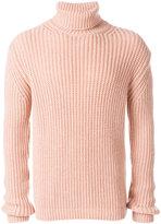 MSGM turtleneck slim-fit jumper - men - Acrylic/Wool - XL