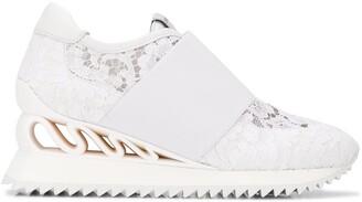 Le Silla Rubel Wave lace sneakers