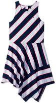 Tommy Hilfiger Directional Stripe Dress Girl's Dress