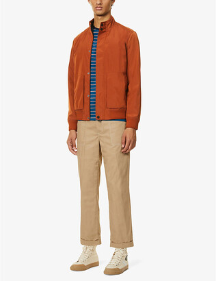 Ted Baker Patch shell bomber jacket