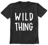 Urban Smalls Charcoal 'Wild Thing' Tee - Toddler & Girls