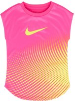 Nike Girls 4-6x Dri-FIT Dotted Tee