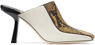 Jimmy Choo Marcel 85mm square-toe mules