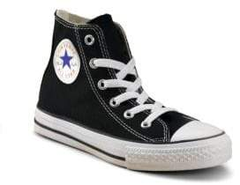 Converse Infant's, Toddler's,& Kid's Chuck Taylor All Star Core High Sneakers - Black - Size 11 (Child)