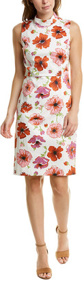 Brooks Brothers Floral Sheath Dress