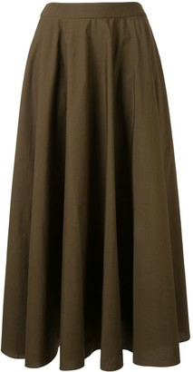 Ginger & Smart Proper A-line midi skirt