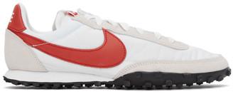 Nike White Waffle Racer Sneakers