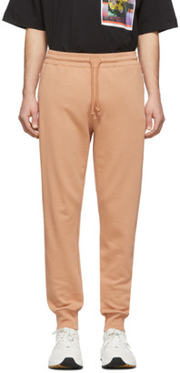 Dries Van Noten Beige French Terry Lounge Pants