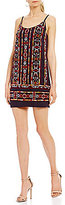 French Connection Bakari Beaded Embroidery Shift Dress