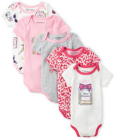 Juicy Couture Newborn/Infant Girls) 5-Pack Perfume Bottle Bodysuits
