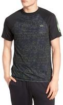 Lacoste Men's Sport Performance Print Jersey T-Shirt