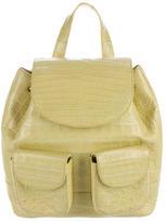 Nancy Gonzalez Crocodile Flap Backpack