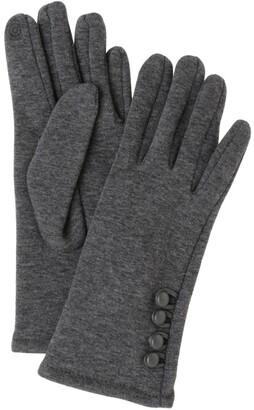 Gregory Ladner Button Trimmed Gloves