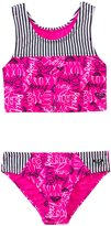 Roxy Girls Logo Pop Tankini Two Piece (2T6X) - 8135486