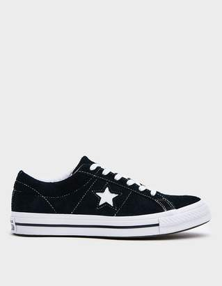 Converse One Star OX Sneaker in Black