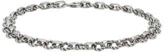 Ugo Cacciatori Silver Tiny Light Chain Bracelet