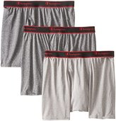 Champion Men's 3 Pack Active Performance Short Leg Boxer Briefs
