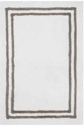 Safavieh Bath Mats Collection PMB725 Rug, Dark Grey, 2' X 3'