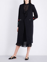 Temperley London Creek double-breasted cotton coat