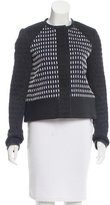 Proenza Schouler Leather-Trimmed Textured Jacket