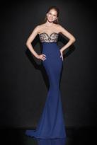 Tarik Ediz Illusion Empire Gown 92478