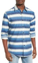 Pendleton Men's Preston Indigo Stripe Shirt