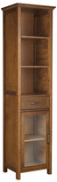 "Elegant Home Fashions Avery 17"" x 65"" Free Standing Linen Tower"