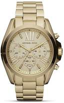 Michael Kors Round Gold-Tone Sport Watch, 43mm