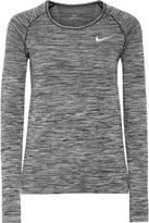 Nike Dri-fit Stretch Top - Gray
