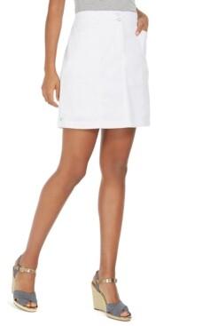 Karen Scott Woven Skort, Created for Macy's