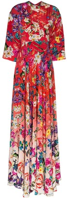 Mary Katrantzou Go the Extra Mile maxi dress