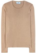 Prada Cashmere And Silk Sweater