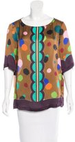 Ter Et Bantine Printed Silk Top w/ Tags