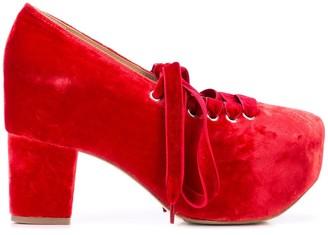 Simone Rocha platform lace-up shoes