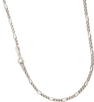 Best Silver Women's Necklaces - Italian Sterling Silver Figaro Chain Necklace