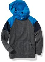 Old Navy Color-Block Fleece Hoodie for Boys