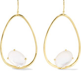 Ippolita Rock Candy® Wire 18-karat Gold Mother-of-pearl Earrings - one size