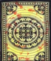 Shivansh Creations Cotton Hippy Indian Mandala Wall Hanging Bohemian Throw Decor Bedspread Tapestries Wall Tapestries Mandala Tapestry