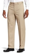 Savane Men's Flat Front Eco-Start Khaki Pant