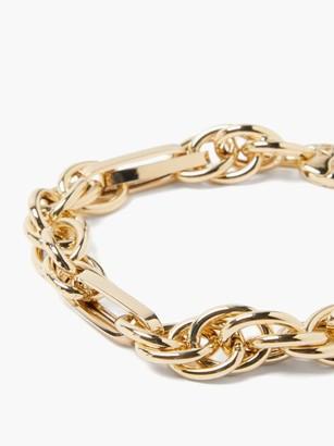 LAUREN RUBINSKI Spiral-chain 14kt-gold Bracelet - Yellow Gold