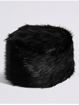M&S Collection Fur Cossack Hat