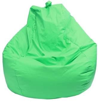 Latitude Run Medium Faux Leather Bean Bag Lounger Latitude Run Fabric: Medium Blue